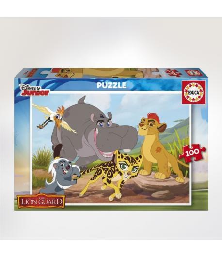 Puzzle 100PCS Roi lion 17169