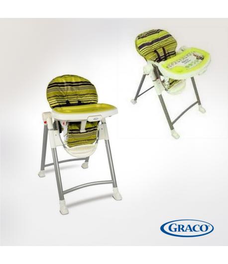 GRACO Chaise Haute Contempo blakberry spring