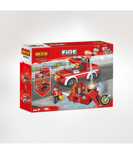 COFFRET LEGO CAMION FIRE