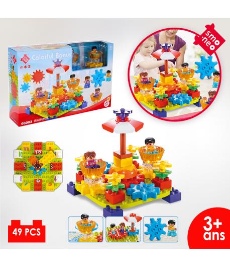 Lego en coffret : 66003 Bloc rotatif