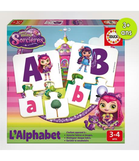 Apprend L'alphabet Mini-Sorcière