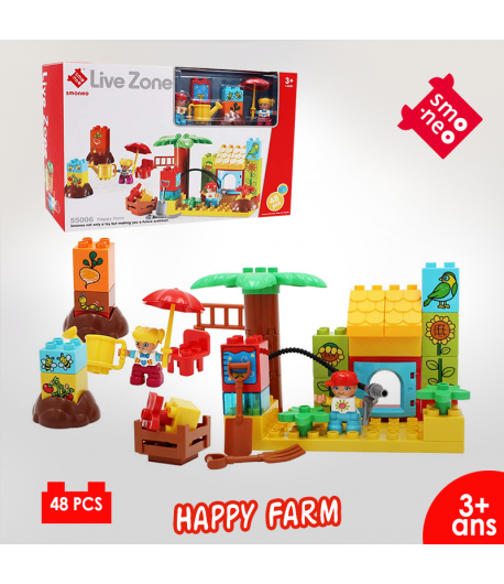 Lego en coffret : 55006 Happy Farm